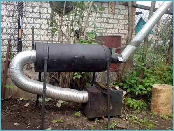Газовая коптильня холодного копчения своими руками 366